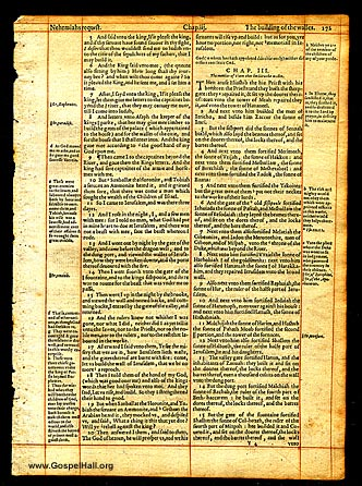 Geneva Bible Leaf