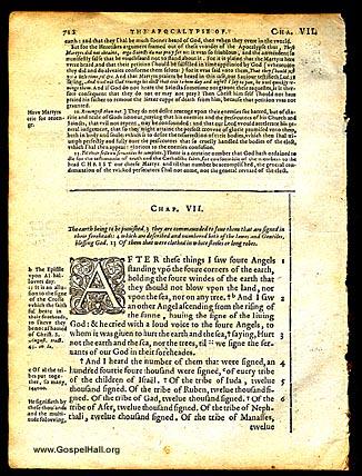 Douay Rheims Bible Leaf Picture