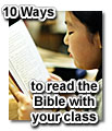 10 ways to read the bible