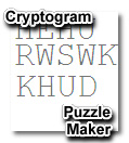 Printable Cryptogram Maker