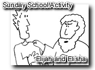Elijah and Elisha - chariott of fire