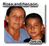 Rosa and Jesus