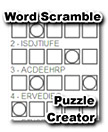 Word Scramble Worksheet Creator