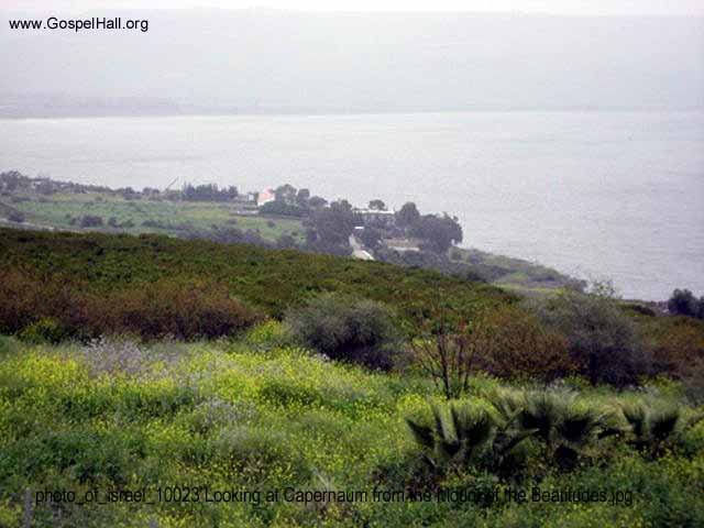 photo_of_israel_10023 Looking at Capernaum from the Mount of the Beatitudes.jpg