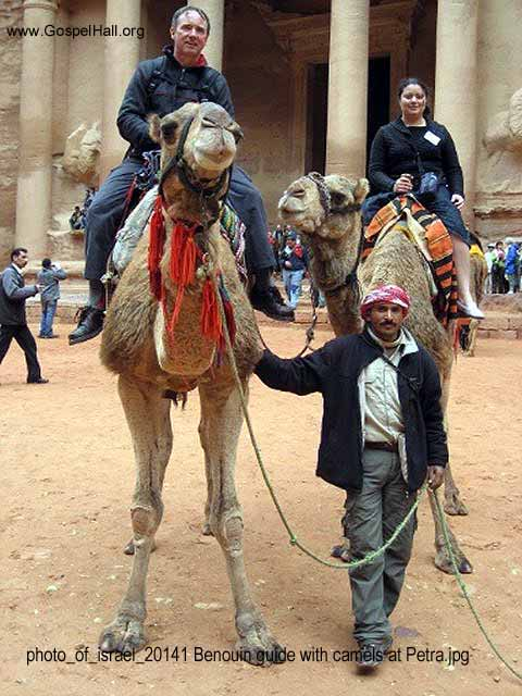 photo_of_israel_20141 Benouin guide with camels at Petra.jpg