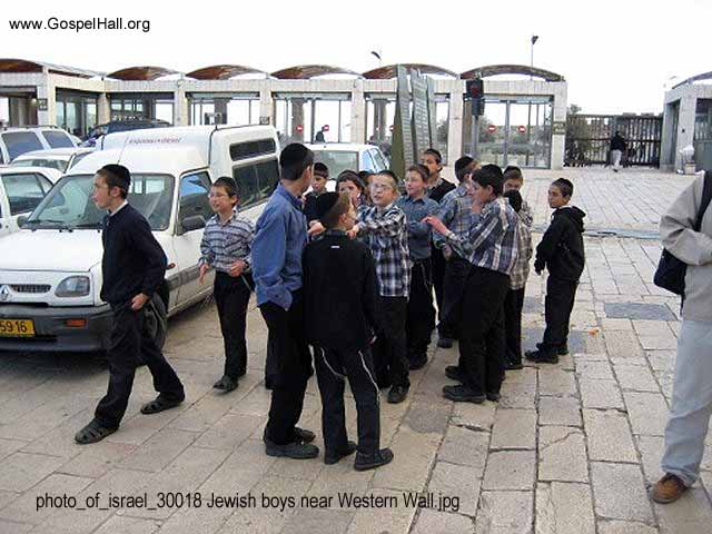 photo_of_israel_30018 Jewish boys near Western Wall.jpg