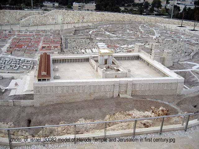 photo_of_israel_30082 model of Herods Temple and Jerusalem in first century.jpg