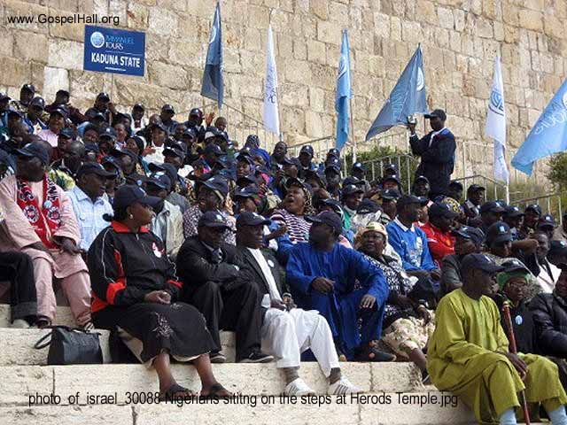 photo_of_israel_30088 Nigerians sititng on the steps at Herods Temple.jpg