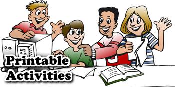 Sunday School Printable Activities